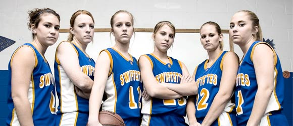 From left: Macee Schulte, Candance Birkenfeld, Holly Kleman, Jennifer Acker, Lacey Acker and Heidi Ramaekers.