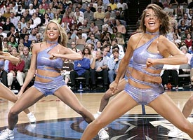 Dallas Mavericks dancers