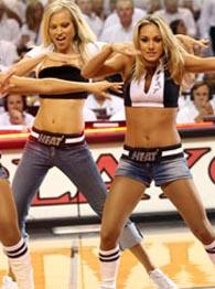 Miami Heat dancers