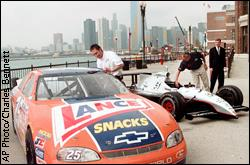 Andy Santerre and Eddie Cheever