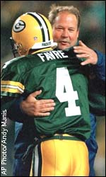 Leaves Are Turning And Brett Favre Is >> Espn Com Nfl Big Test For Leaders Of Pack