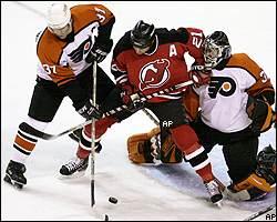New Jersey Devils/Philadelphia Flyers NHL recap on ESPN