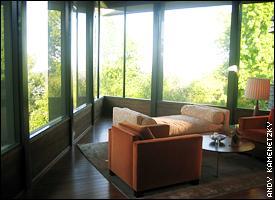 Wilt Chamberlain's bedroom