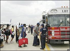 Katrina evacuation