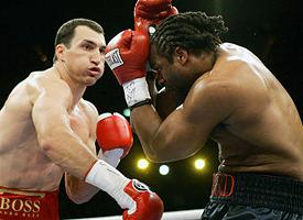 Wladimir Klitschko & Chris Byrd