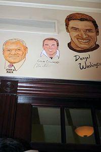 Colin's caricature