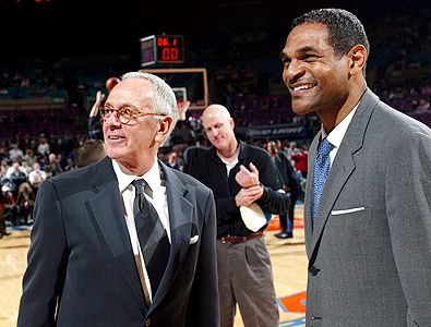 Larry Brown, Maurice Cheeks