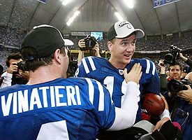 Vinatieri and Manning