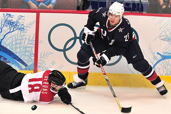 Paul Stastny is a second-generation Olympic hockey player ...
