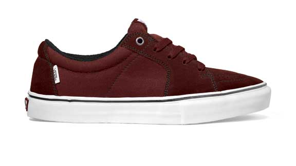 25515ff163 The Anthony Van Engelen AVE Sk8-Lo is a classic skate shoe bulked up  internally. Courtesy of Vans