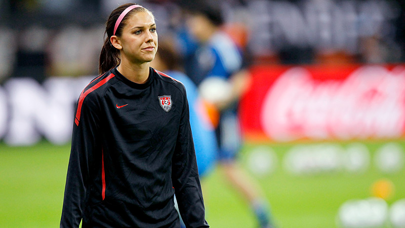 French club Lyon wants to woo U.S. women s team star Alex Morgan from  Orlando Pride e0b6b1a5c14