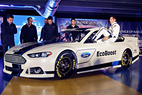 Nascar Ford Gets New Fusion Cup Car Right Espn