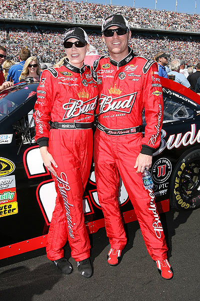 Harold Hinson Photography Kevin Harvick Announced Wednesday Night That His Wife DeLana Is 14 Weeks Pregnant