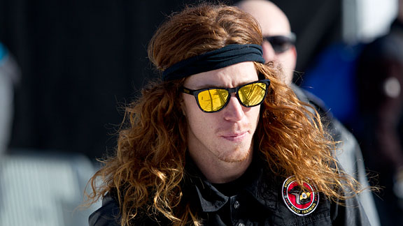 2012 Winter X Games -- Shaun White shakes off injury to go for SNB ... 1168e680a56