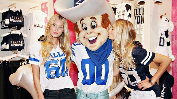 Nice espnW Marriage of Cowboys and Victoria's Secret hits the mark  for cheap