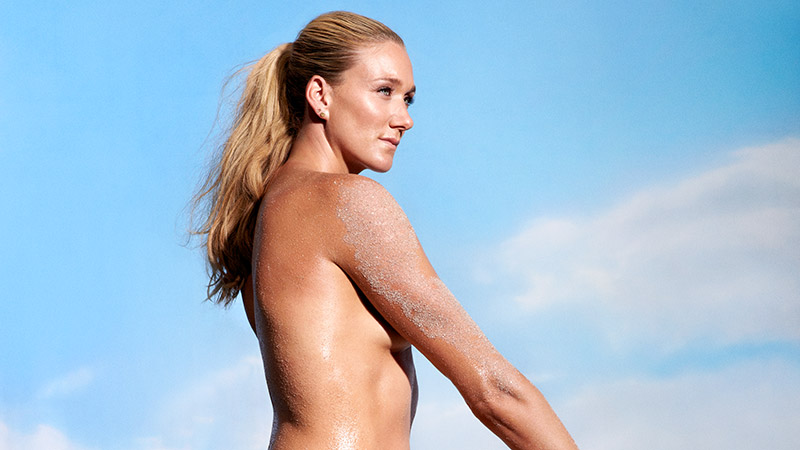 Female olympic swimmers nude above