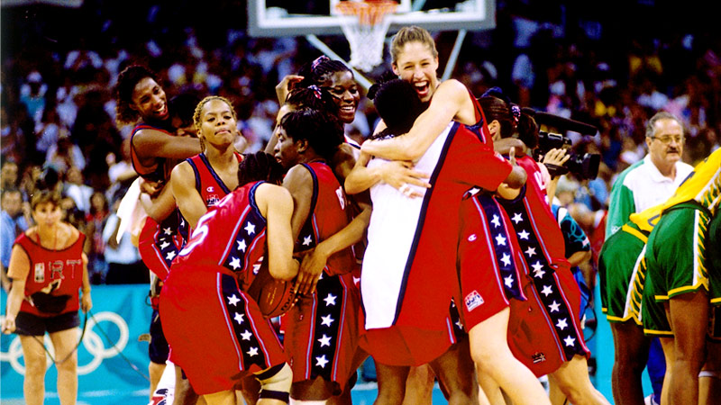 Slideshow influential women and moments in sports history 1996 usa womens basketball team freerunsca Image collections