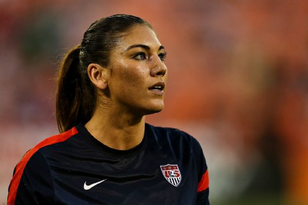Hope solo dating landon donovan