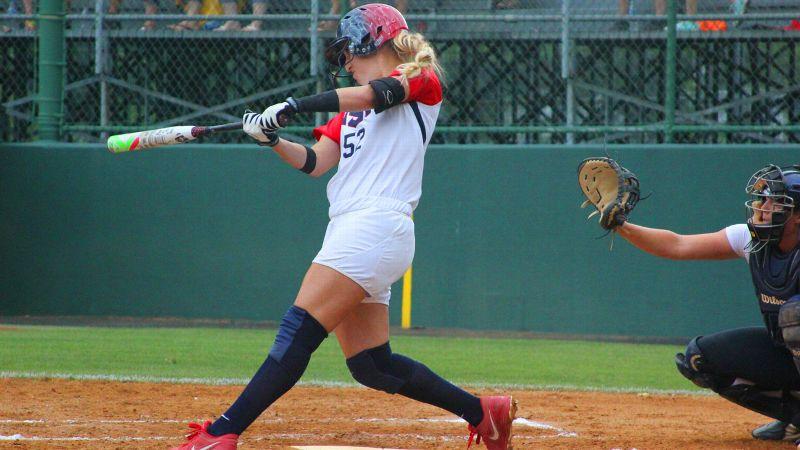 espnW -- A hit sequel for Team USA softball player Sam Fischer