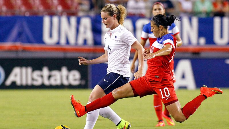 How Getting Cut Helped Carli Lloyd Refocus And Find Her Spot On The