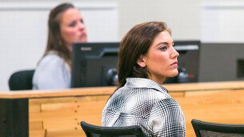Hope Solo has domestic violence charges dropped