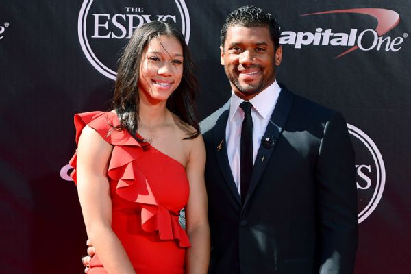 Mother of Russell Wilson Tammy Wilson