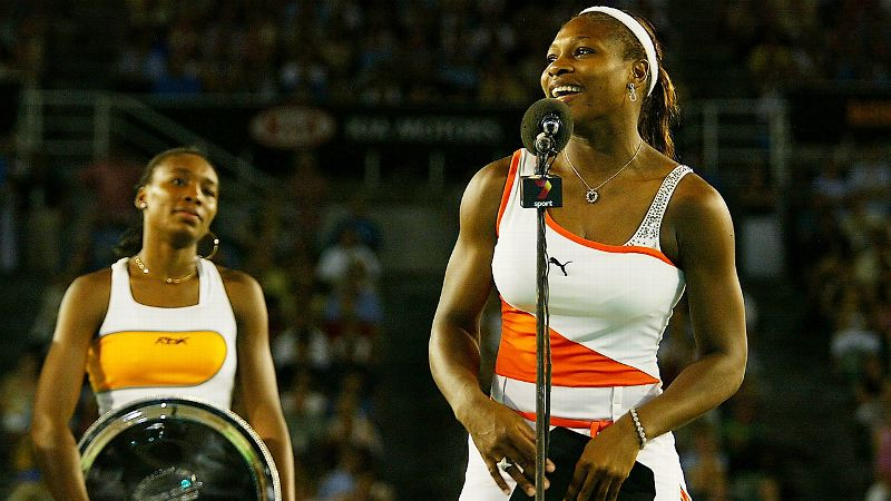 Image result for Venus and Serena 2003 Australian open final