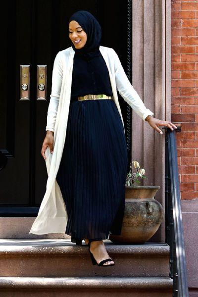 style dress muslim fencer