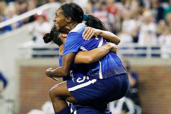 9ff43c35c61 U.S. women s national team routs Haiti behind Carli Lloyd hat trick
