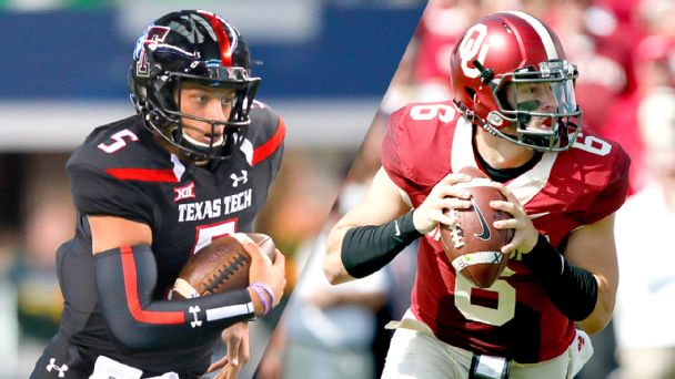 Baker Mayfield and Patrick Mahomes  record-shattering 2016 showdown 2e8be7b68