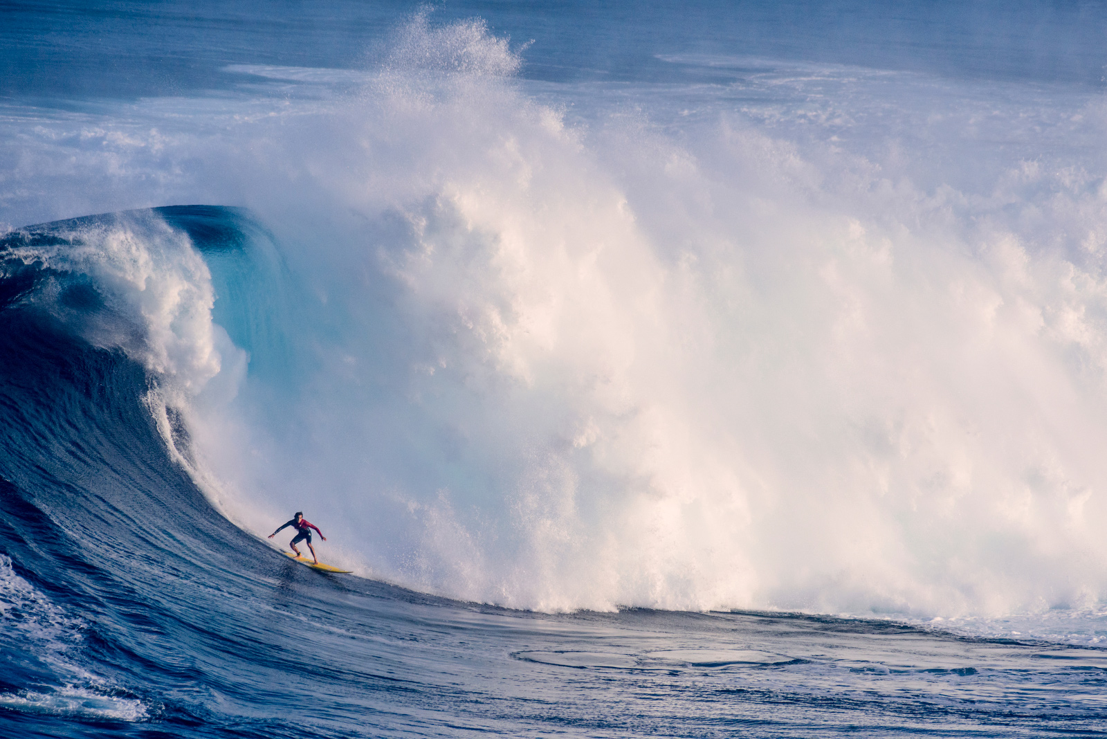 Surfers Risk Death Paddling Into Historic 80 Foot Waves At