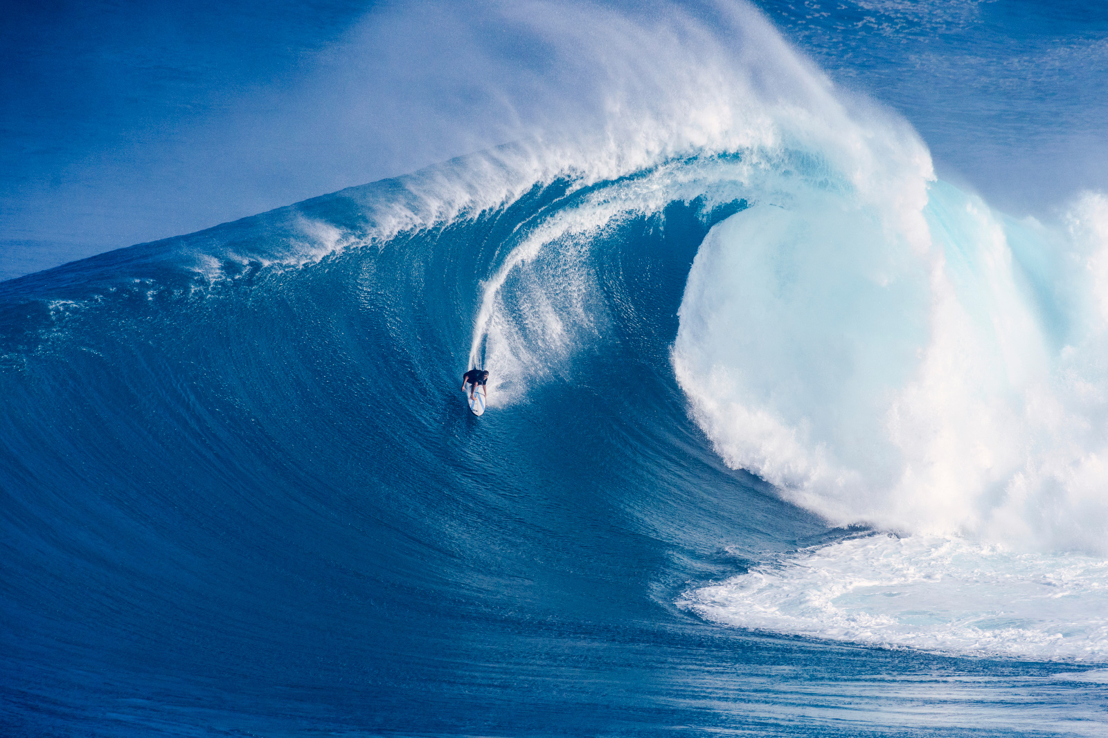 Surfers Risk Death Paddling Into Historic 80 Foot Waves At Jaws