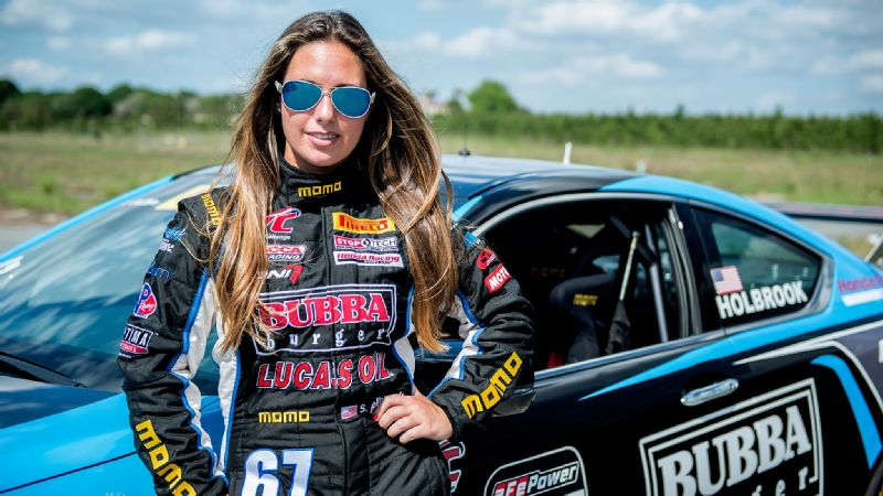 Cool Jobs In Sports Race Car Driver Shea Holbrook