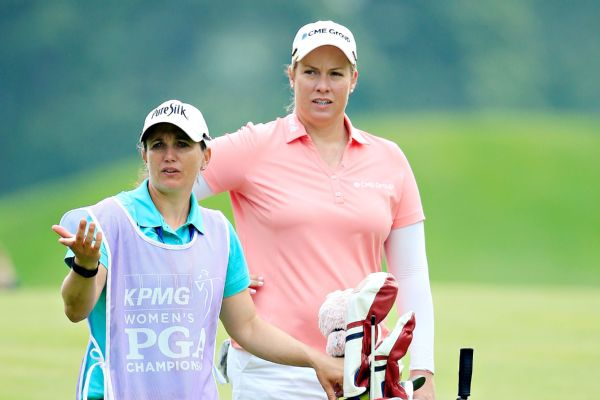 Cool jobs in sports -- Missy Pederson, caddie for LPGA star Brittany