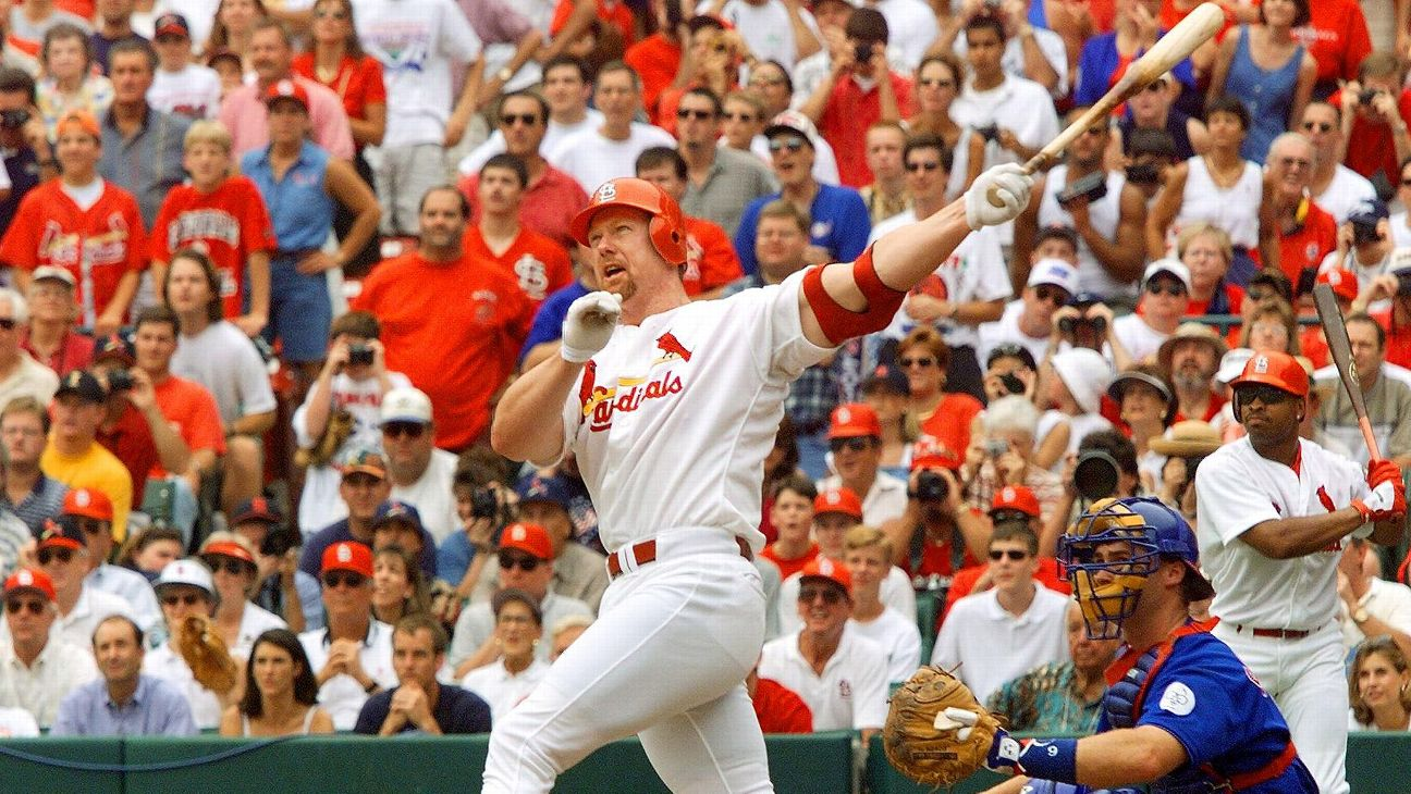 Mark McGwire took home the home run title in 1998 but not the MVP.