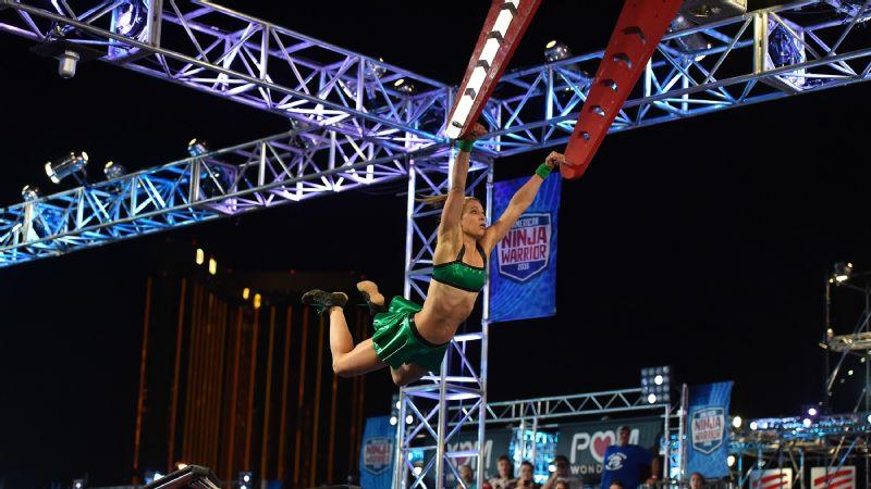 American Ninja Warrior Jessie Graff Is Now The First Woman