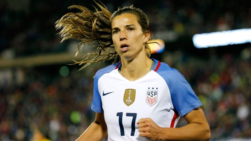 Tobin Heath named U.S. women's...