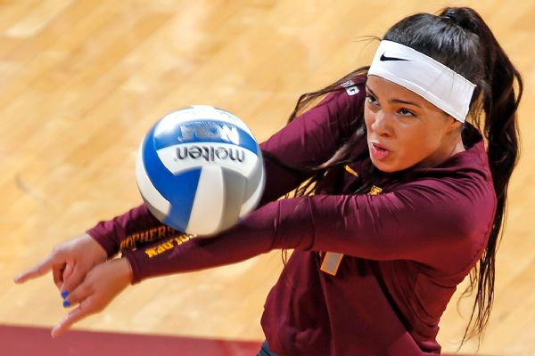Extreme Teen Hot College Women Volleyball Players