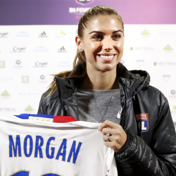buy popular c0359 58971 Alex Morgan fulfills European ambition by joining Lyon