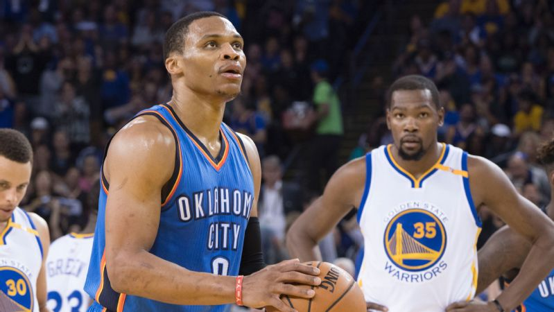 97a81caa6e7 Fans can t help but tune in when Russell Westbrook and Kevin Durant share  time