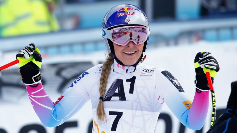 Lindsey Vonn heads into world championships with half a thumbs up