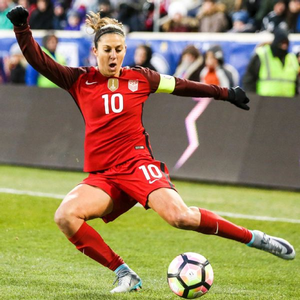 U S Women S National Team Star Carli Lloyd Is Up For The Challenge