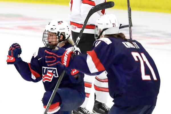 2e488f2192d United States women's hockey team beats Canada in world championship ...