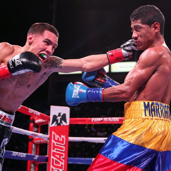 Oscar Valdez and Miguel Marriaga