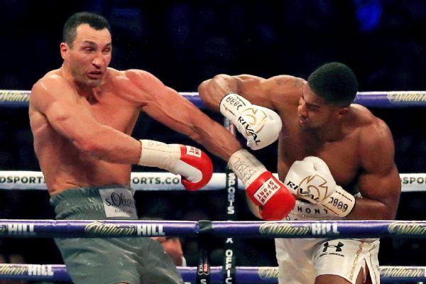 ESPN.com - Anthony Joshua defeats Wladimir Klitschko by 11th-round TKO