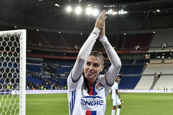 effdb7583 Alex Morgan s Lyon earns Champions League final after dispatching ...