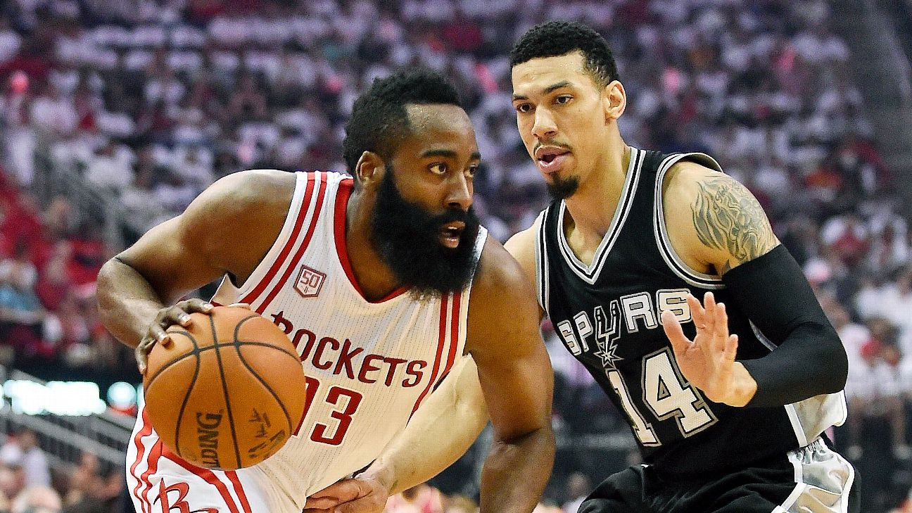 b9ab4f3ecbf The Spurs tried an unorthodox defense against James Harden during the 2017  playoffs.