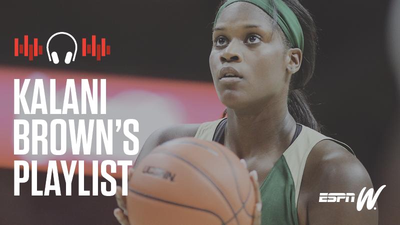 Baylor basketball player Kalani Brown loves both Lil Wayne -- and