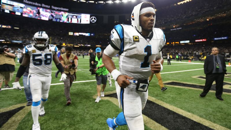 28e1e333 Cam Newton's season again ended in disappointment, but the Panthers QB  wasn't to