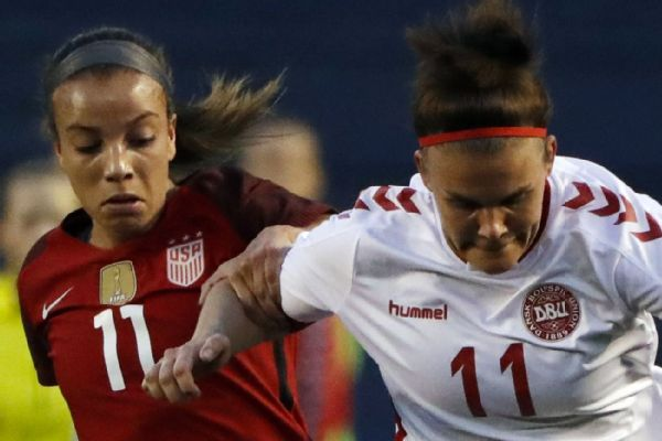 dd84e5a1fee Mallory Pugh powers U.S. women s national soccer team to 5-1 win in ...